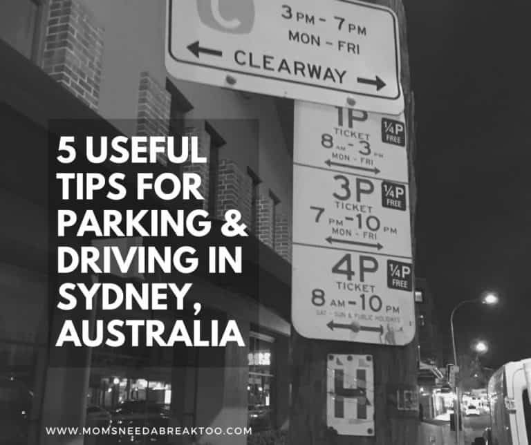 5 Useful Tips for Parking & Driving in Sydney Australia
