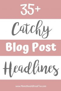 35 Catchy Headlines
