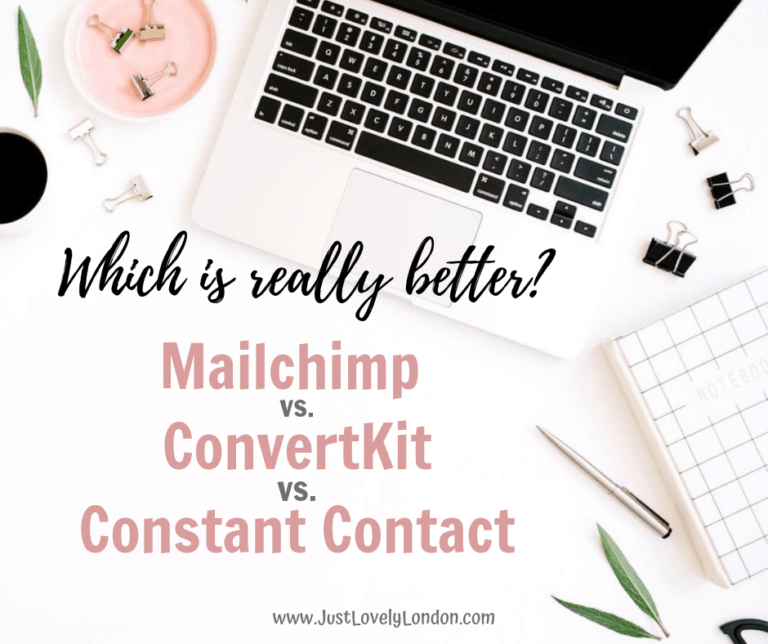 Mailchimp, Constant Contact or ConvertKit . . . Which is really better?