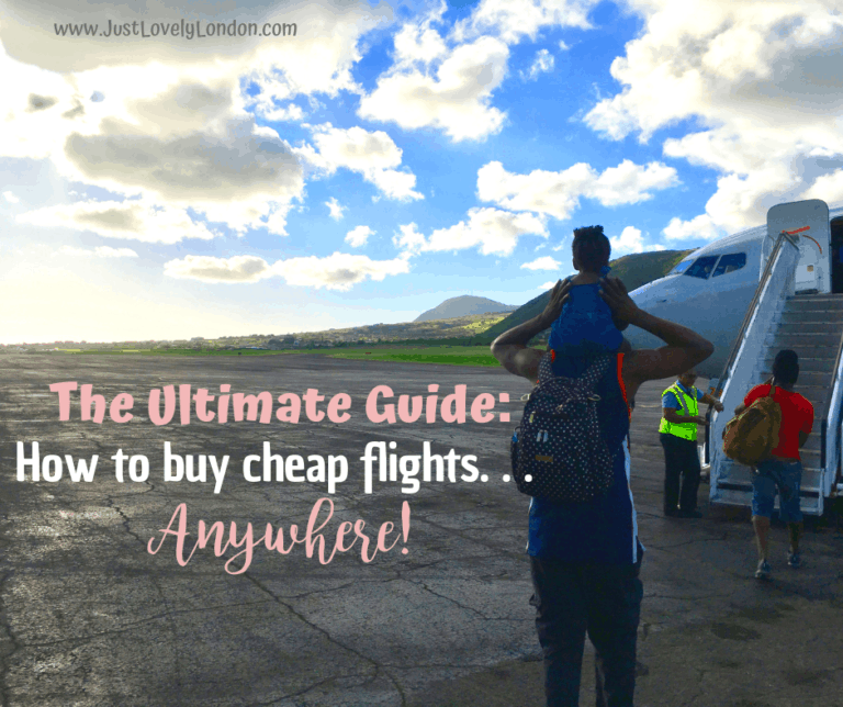 The Ultimate Guide: How to get cheap flights