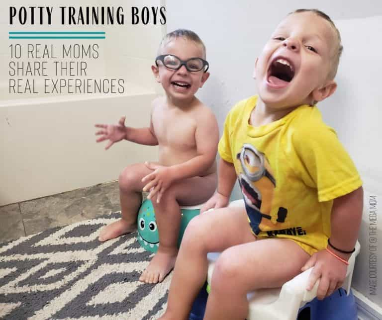 Potty Training Boys Tips: Advise from 10 Moms