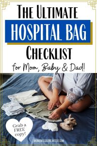 Printable Hospital Bag Checklist for Mom