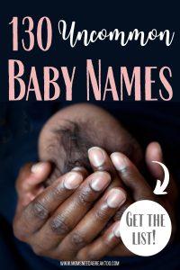 Uncommon Baby Names_Cool Kid Names