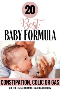 Best Baby Formula for Constipation