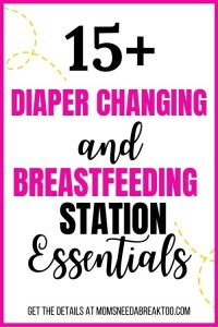 Diaper Changing_Breastfeeding_Station