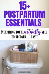 Postpartum Care Kit Checklist_Postpartum Essentials Moms Can't Live Without