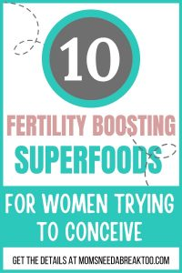 Fertility Boosting Superfoods
