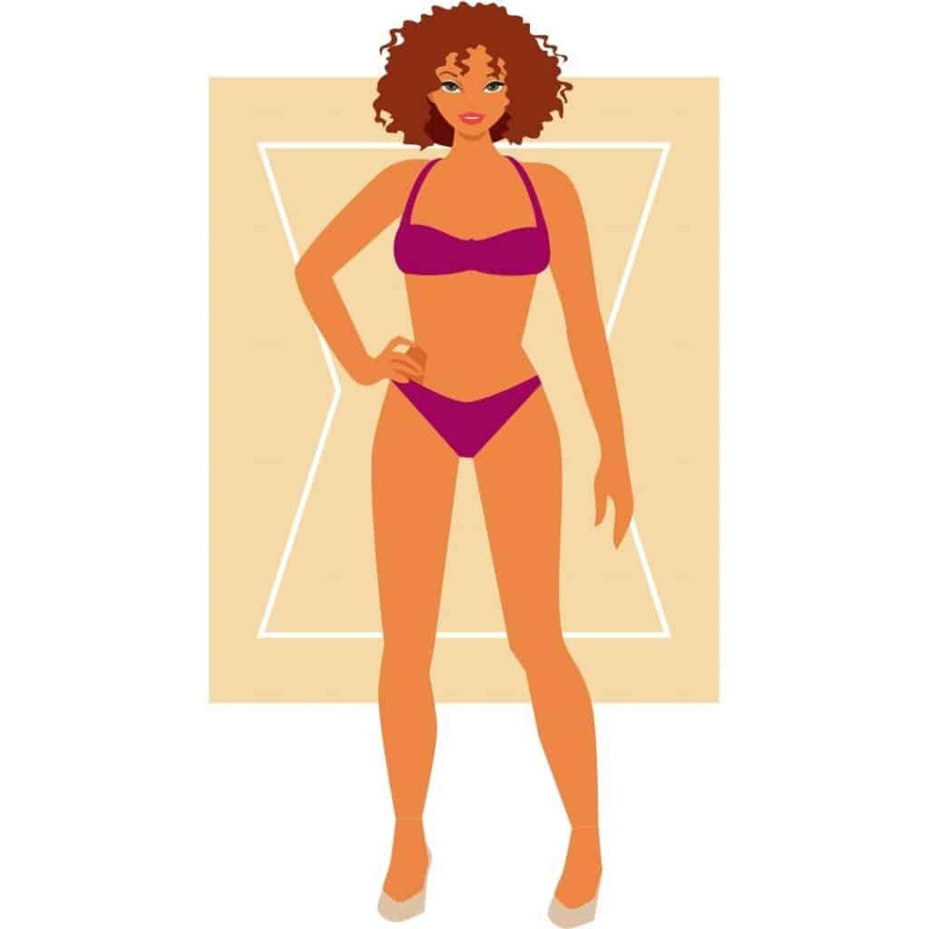 Woman's Body Shape - Hourglass