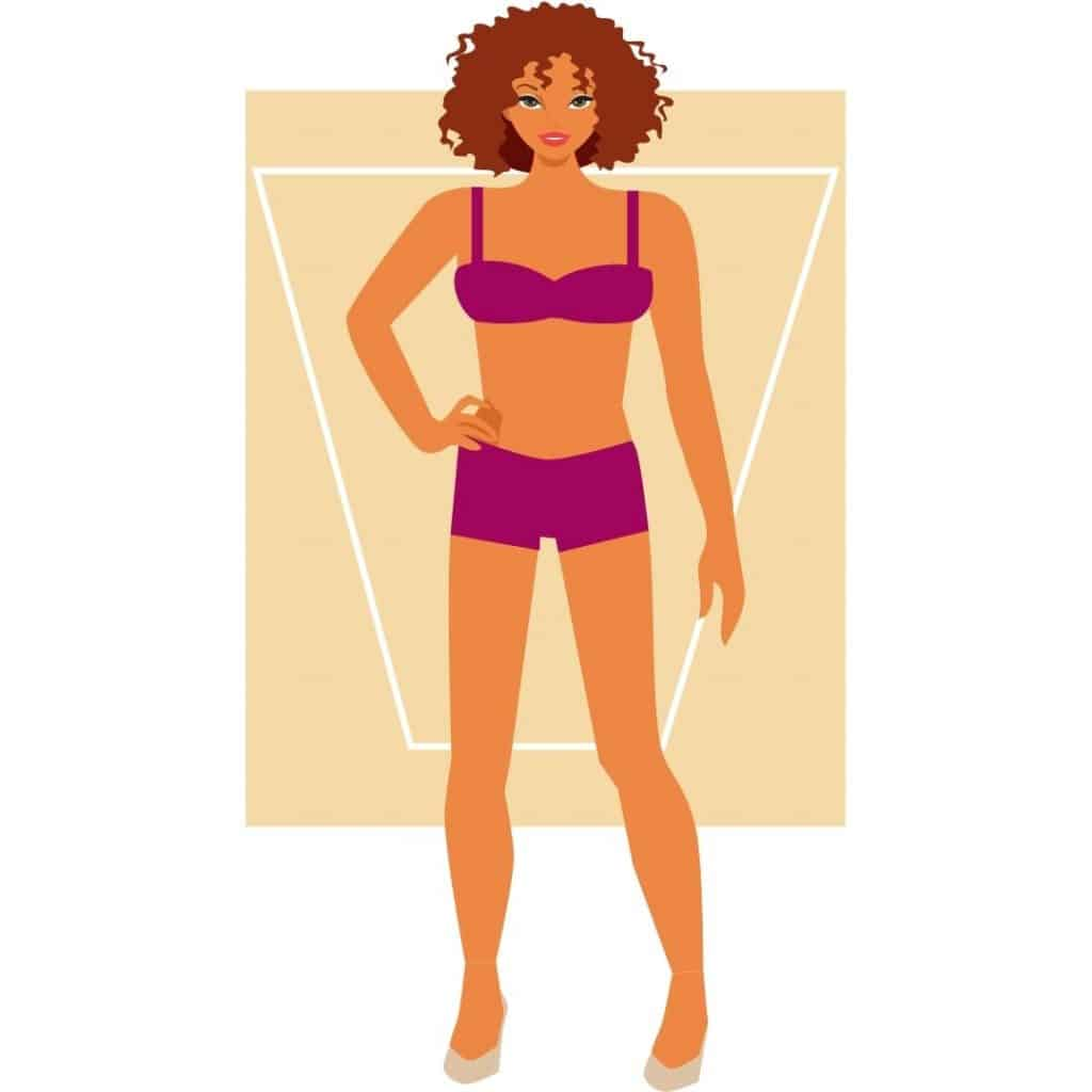 Woman's Body Shape - Inverted Triangle or Apple