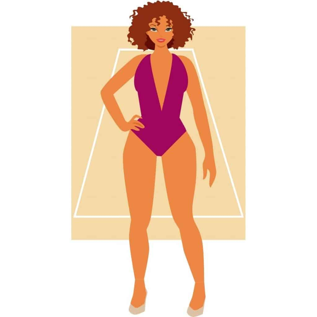 Woman's Body Shape - Triangle or Pear